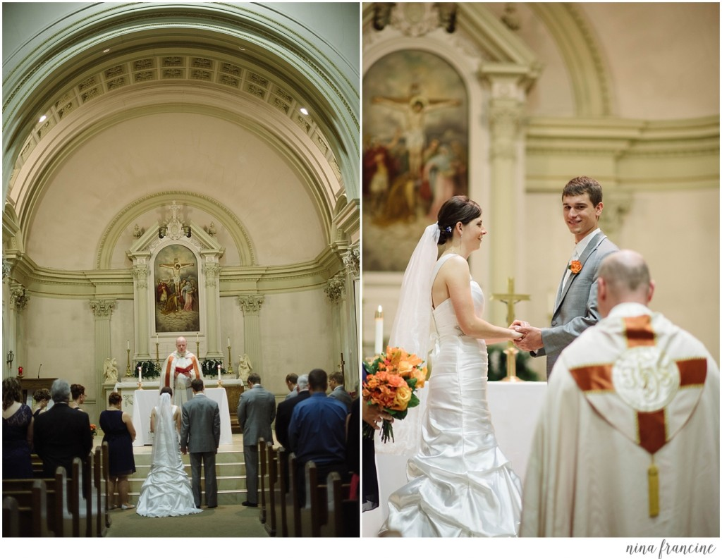 St. Francis Xavier Wedding
