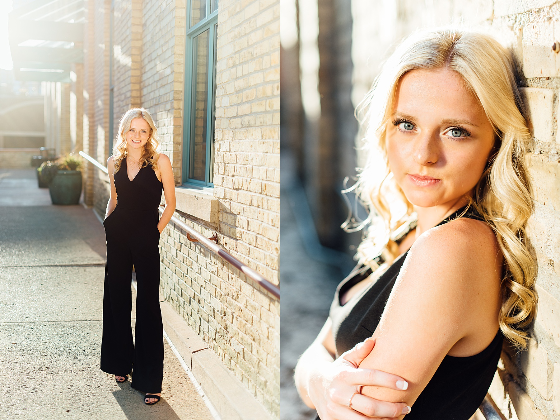 stone arch bridge senior session