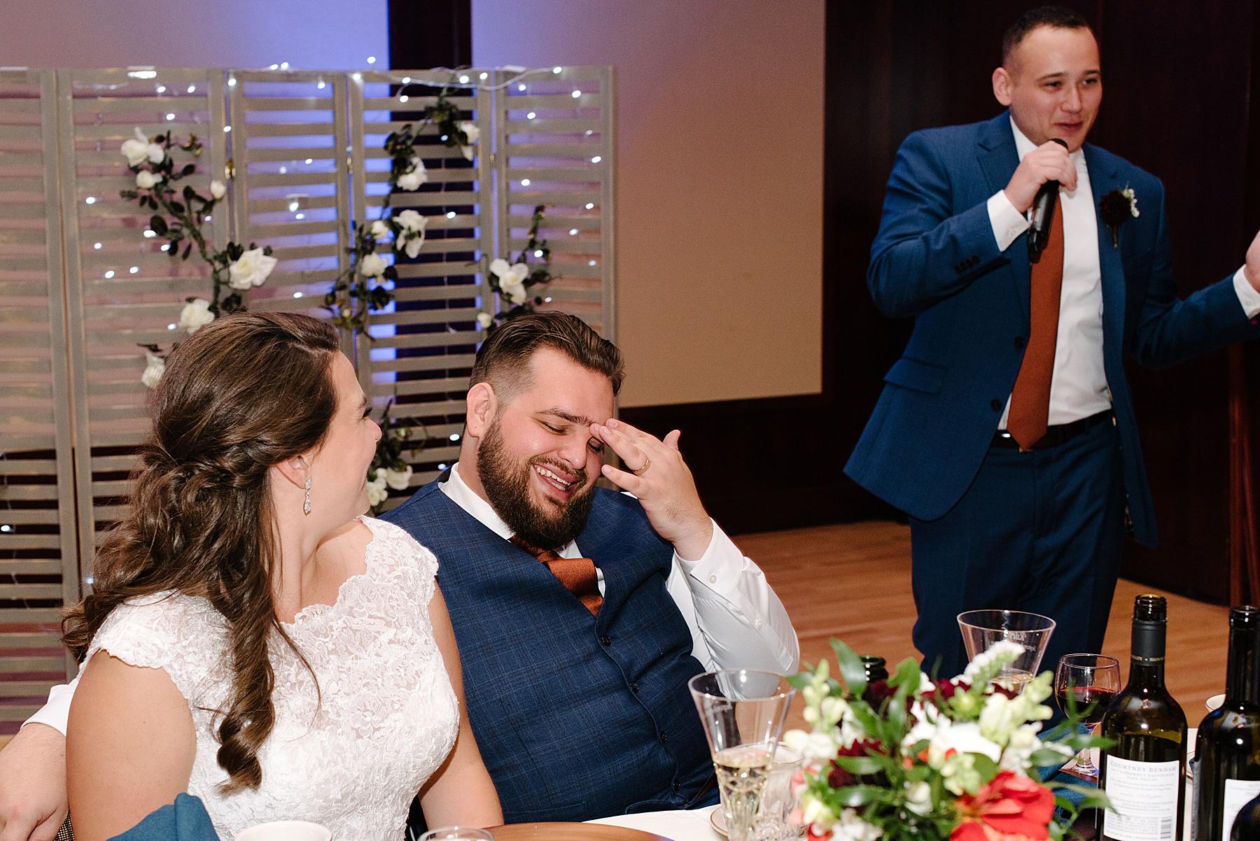 davies student center wedding